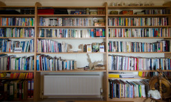 Full Wall Bookshelf