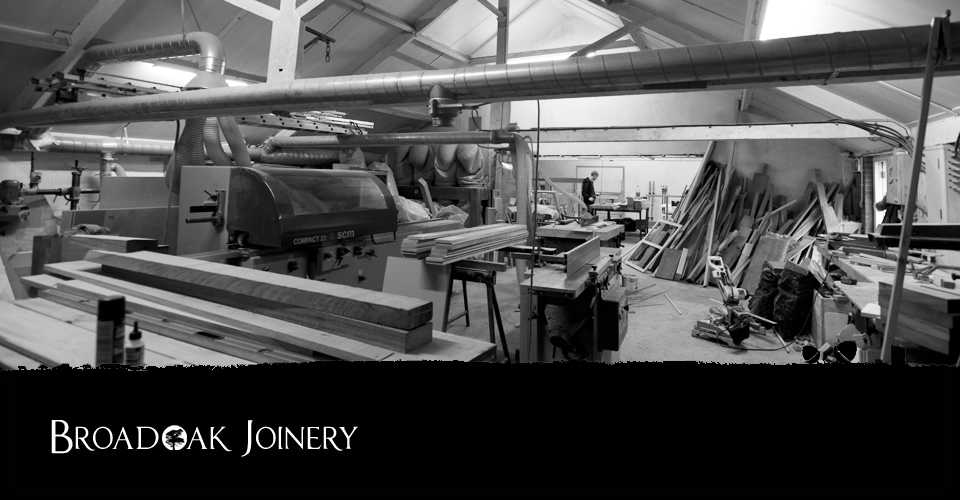 Broadoak Joinery workshop space Bridport Dorset