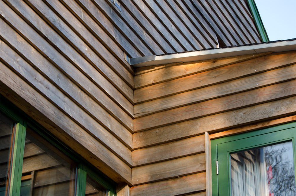 Burrowshot Cladding Exterior Broadoak Joinery