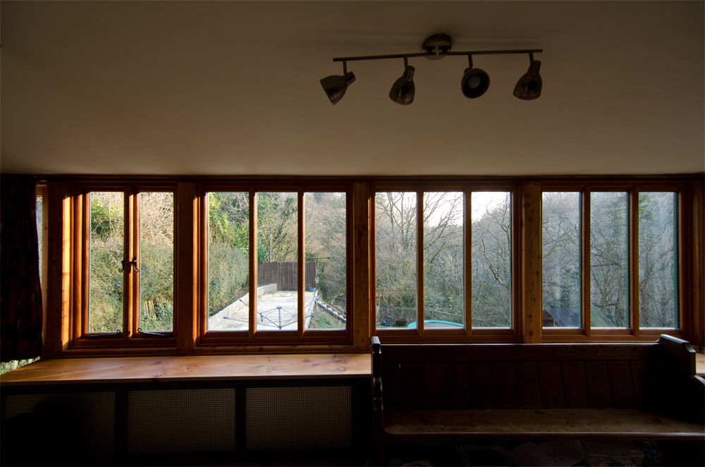 Burrowshot Long Windows Interior Broadoak Joinery