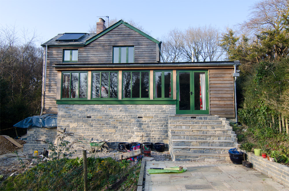 Burrowshot Wooden House Broadoak Joinery