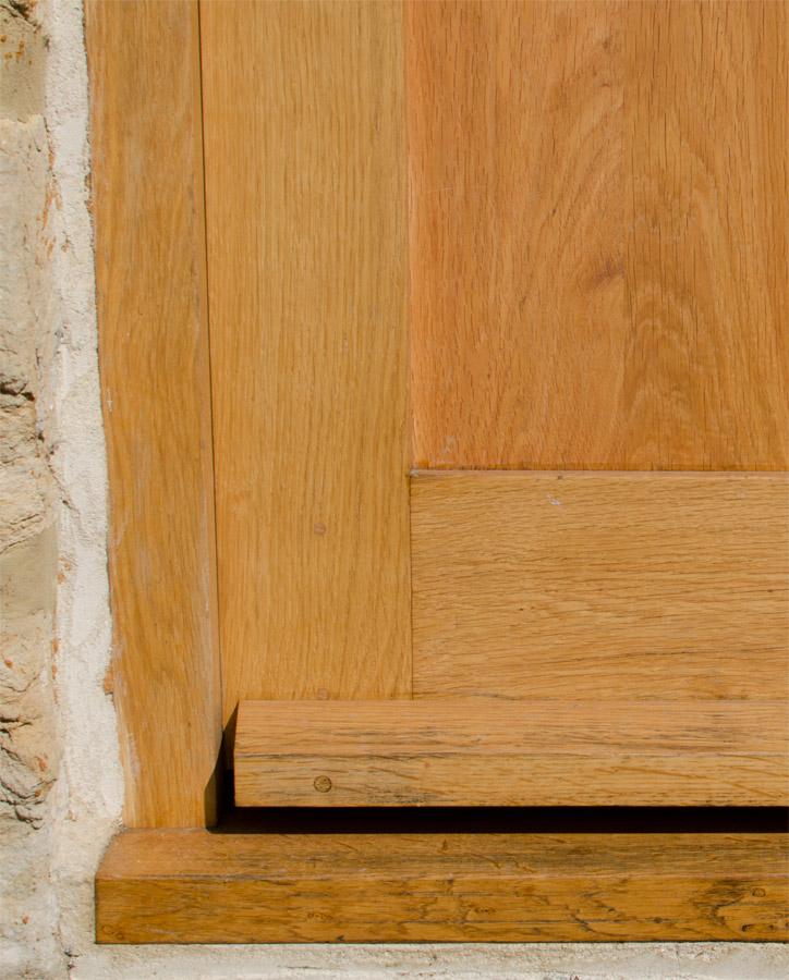 Cottage Door Detail Nr Bridport Oak Broadoak Joinery