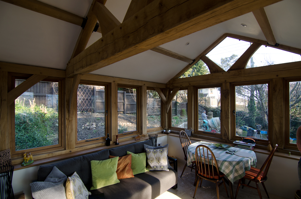 Lyme Regis Conservatory Broadoak Joinery