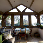 Lyme Regis Conservatory Wide Broadoak Joinery