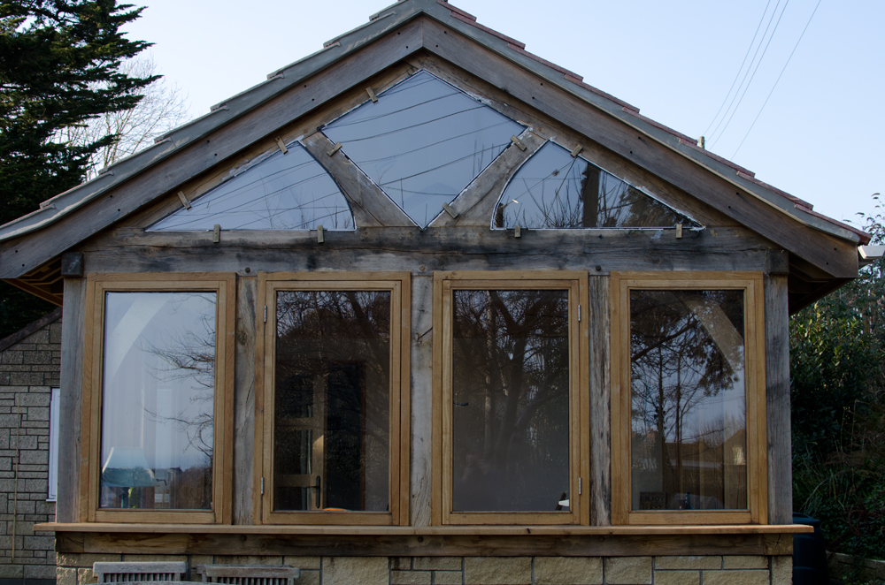 Lyme Regis Extension Frame Broadoak Joinery