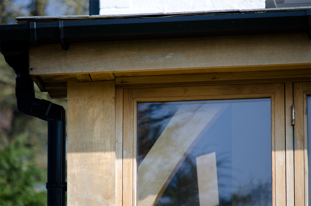 Morcombelake Bridport Corner Detail Broadoak Joinery
