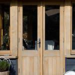 Morcombelake Bridport Extension Frame Doors Windows Broadoak Joinery