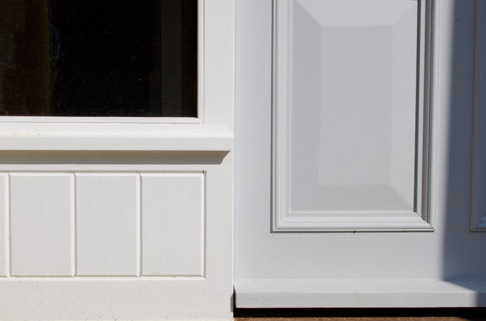 Near Bridport Door Close Up – by Broadoak Joinery Bridport