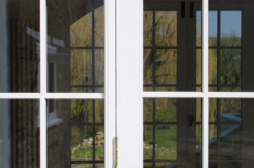 Near Bridport Double Door Detail – by Broakdoak Joinery
