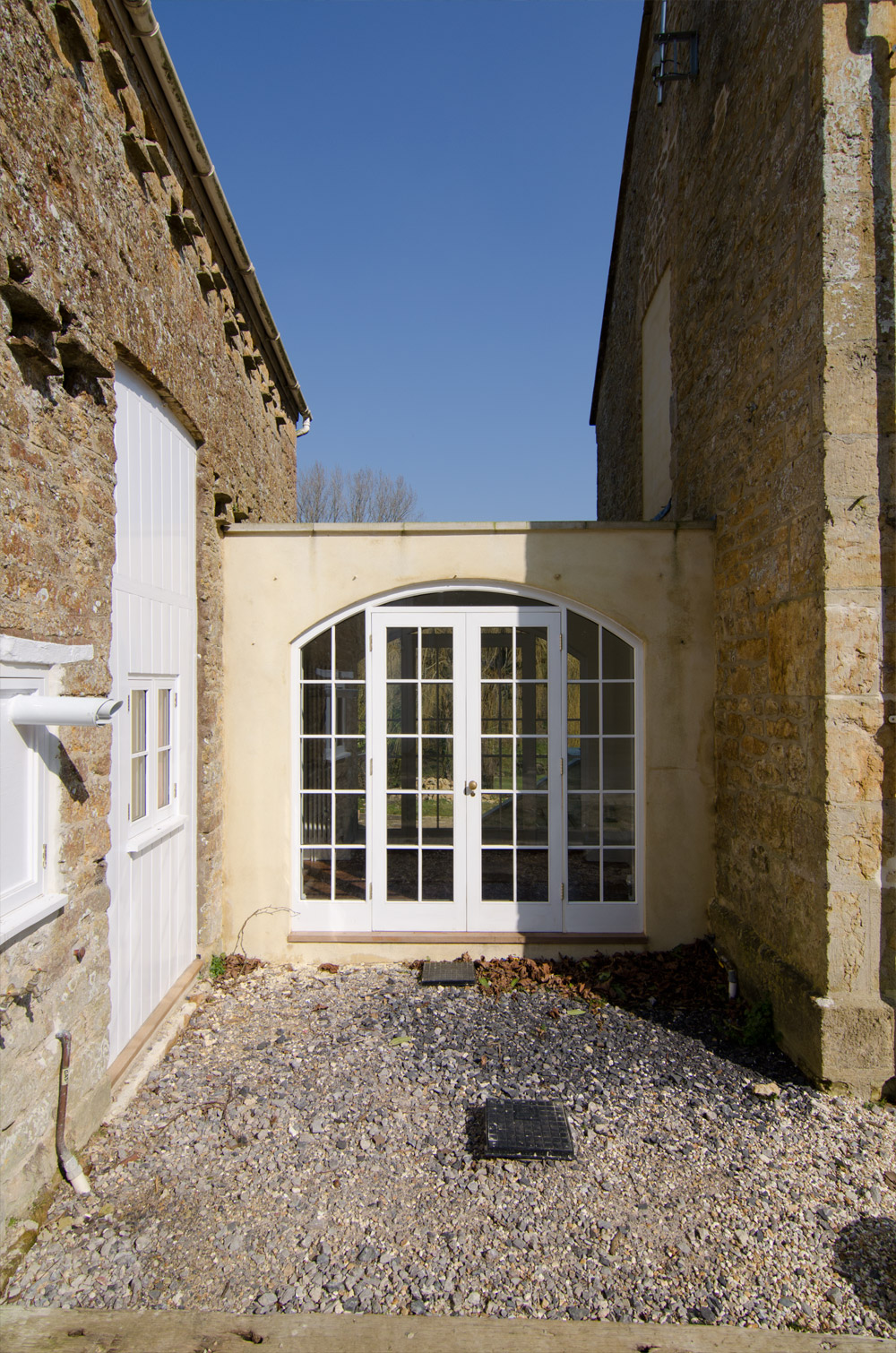 Near Bridport Double Doors – by Broakdoak Joinery