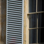 Shutters Detail Manor House Chideock