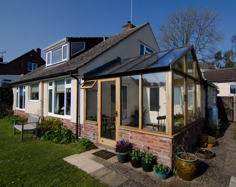 Uplyme Lyme Regis Wide Conservatory Broadoak Joinery