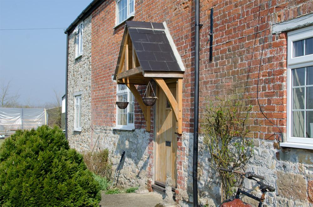 Whitchurch Farmhouse Porch Broadoak Joinery Bridport