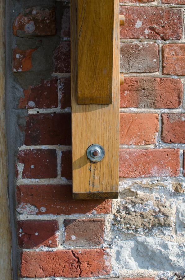Whitchurch Farmhouse Porch Detail Broadoak JoineryBridport