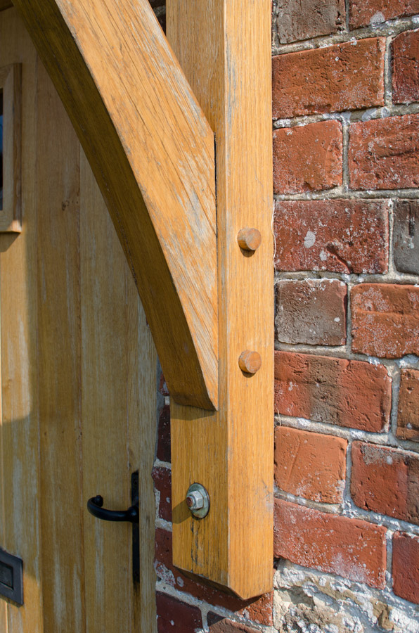 Whitchurch Farmhouse Porch Detail Broadoak Joinery Bridport