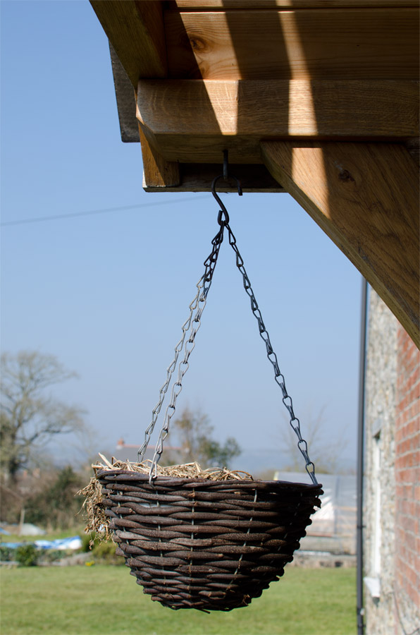 Whitchurch Farmhouse Porch Door Basket Broadoak Joinery Bridport