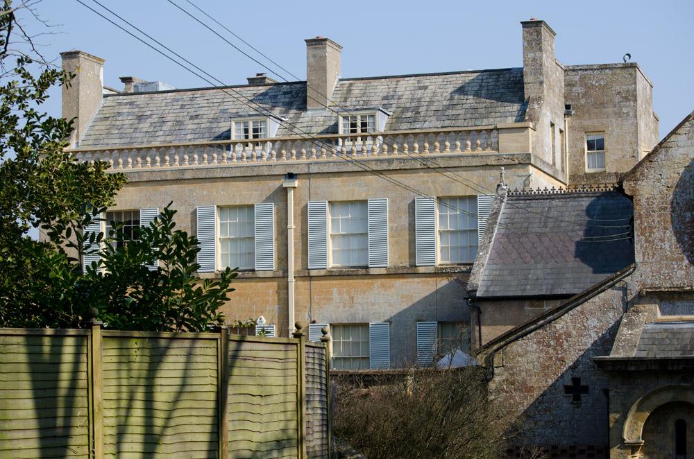 Wide Window Shutters Manor House Chideock