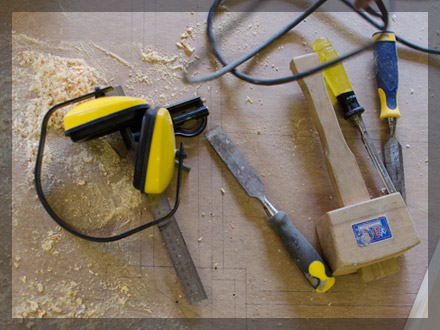 Joiners and Carpenters Tools of the Trade - Broadoak Joinery Bridport