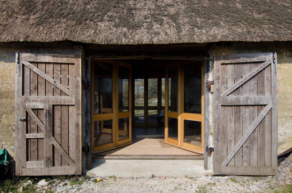 chideock barn bifold doors broadoak joinery